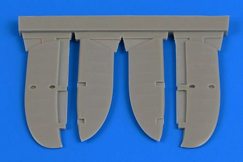 Aires 4719 I-153 Chaika control surfaces for ICM