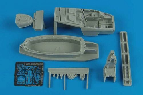 Aires 7263 F-22A Raptor cockpit set for Revell