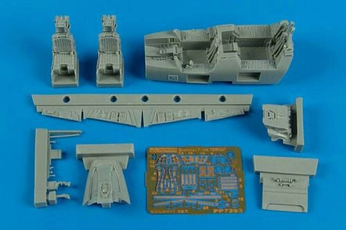Aires 7293 F-14A Tomcat cockpit set for Fujimi