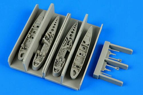 Aires 7305 F9F Panther wingfolds for Hobby Boss