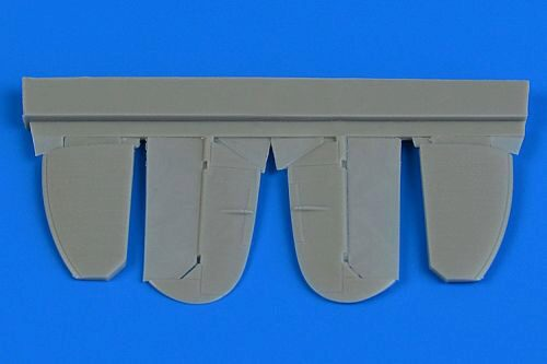 Aires 7351 Spitfire Mk.IX control surfaces (metal) for Eduard