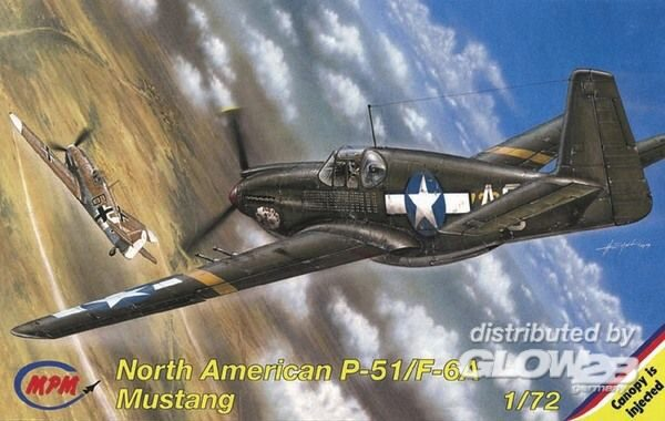 MPM 100-72085 North American P-51 A Mustang Photoversion