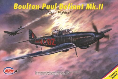 MPM 72519 Boulton Paul Defiant Mk. II Night Fighter