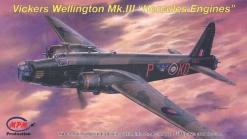 MPM 72542 Vickers Wellington Mk.III ''Hercules Engines''