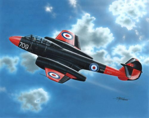 MPM 72548 Gloster Meteor T Mk.7 Commonwealth Train