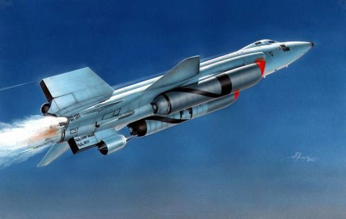 "MPM 72562 X-15A-2 ""with Dummy Scramjet"""