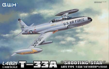 "Lion Roar-GreatwallHobby L4821 T-33A Late Version""Shooting Star"" USAF"