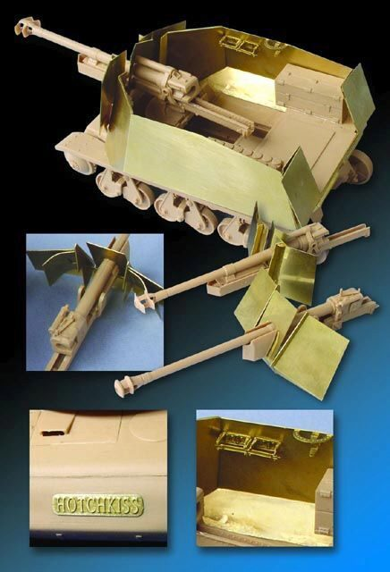 Lion Roar-GreatwallHobby LE35053 Armour/parts for 39(H)105mm LeFH18/ Panzerjaeger 39(H) for Trumpeter