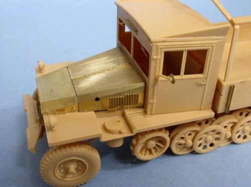 Lion Roar-GreatwallHobby LE35055 German 3 Ton Half-track (Late Version) Sd.kfz.11 /w punch parts for AFV Club