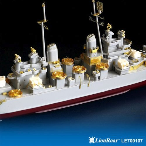 Lion Roar-GreatwallHobby LE700107 WWII USN Heavy Cruiser CA-68 Baltimore for Trumpeter