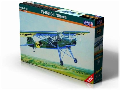 Mistercraft D-211 Fi-156 C-1 Storch CH-Decals