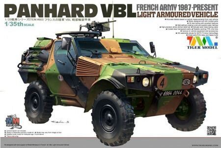 Tigermodel TG-4603 French PANHARD VBL Light Armoured Vehicl