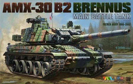 Tigermodel TG-4604 AMX-30 B2 BRENNUS MAIN BATTLE TANK