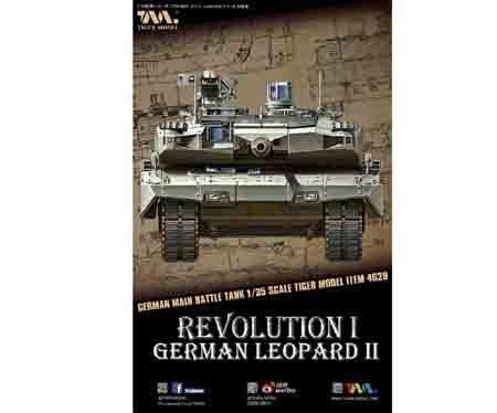 Tigermodel TG-4629 German Main Battle Tank Revolution I Leopard II