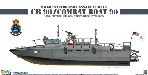 Tigermodel TG-6293 Sweden CB-90 FDST Assault Craft CB 90/ Combat Boat 90