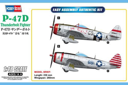 Hobby Boss 85811 P-47D Thunderbolt Fighter
