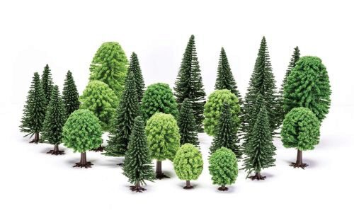 Humbrol R7201 Skale Scenics Hobby Mixed (Deciduous and Fir) Trees