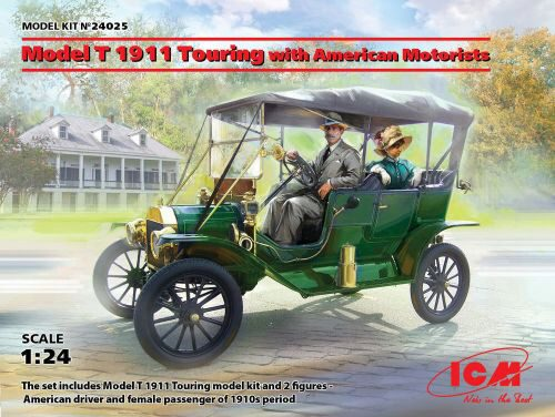 ICM 24025 Model T 1911 Touring with American Motorists