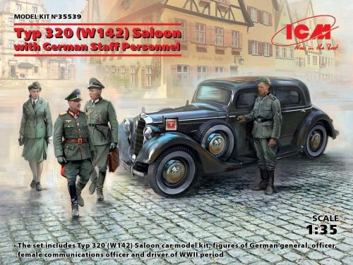 ICM 35539 Typ 320 (W142) Saloon with German Staff Personnel, Limited
