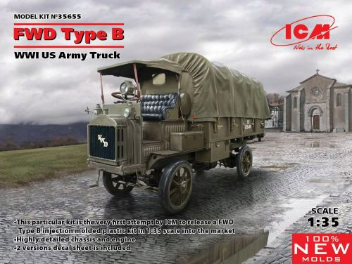 ICM 35655 FWD Type B, WWI US Army Truck
