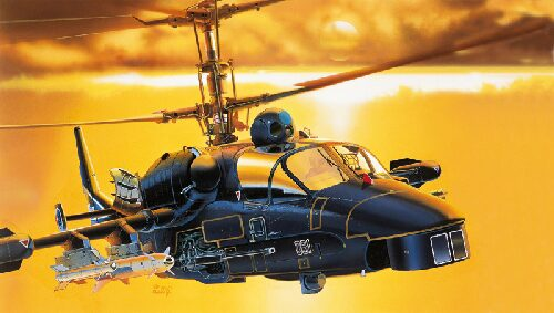Italeri 0005 KAMOV KA - 52 ALLIGATOR