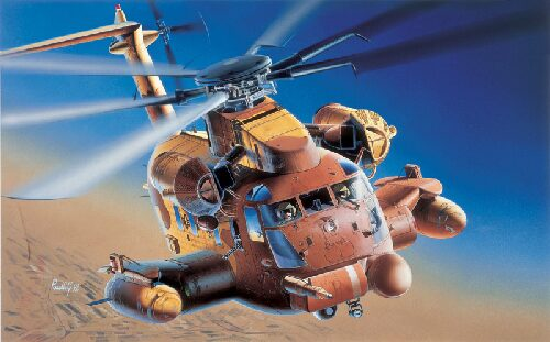 Italeri 0030 MH - 53J Stallion Pave Low III