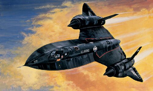 Italeri 0145 SR - 71 BLACK BIRD