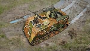 Italeri 7069 M 106 Mortar carrier