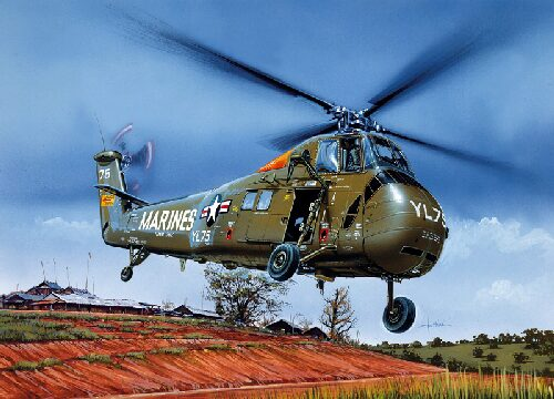 Italeri 1066 UH - 34J SEA HORSE