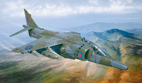 Italeri 1278 HARRIER GR.3