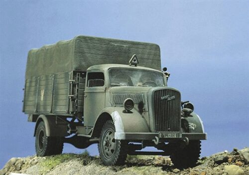 Italeri 216 Deutscher Truck 3to. Typ