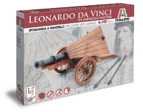 Italeri 3107 Spingarda a mantello - Spingarde with mantlet