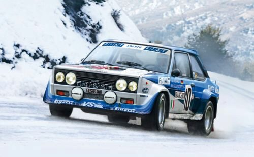 Italeri 3662 Fiat 131 Abarth Rally