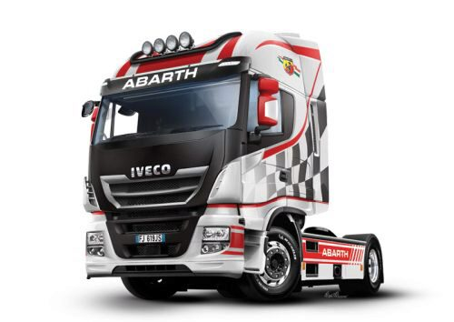 Italeri 3934 IVECO E5 Hi-Way Abarth