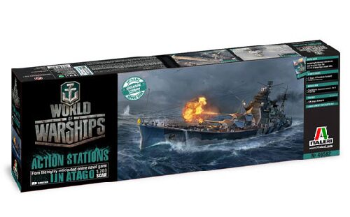 Italeri 46502 World of Warships : IJN ATAGO 1:700
