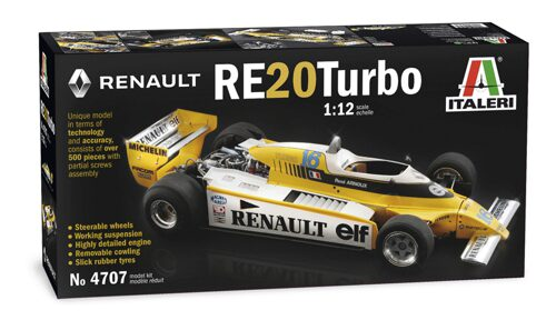 Italeri 4707 Renault RE23 Turbo F1