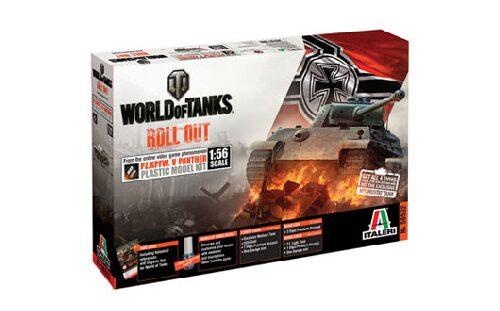 Italeri 56502 World of Tanks 1:56 - Pz.Kpfw. V PANTHER