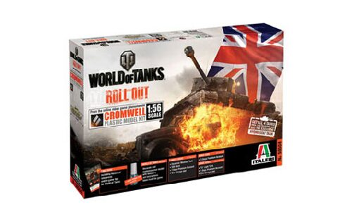 Italeri 56504 World of Tanks 1:56 - CROMWELL