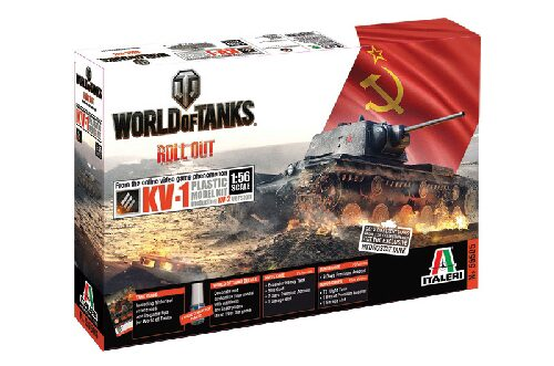 Italeri 56505 World of Tanks 1:56 - KV-1 / KV-2