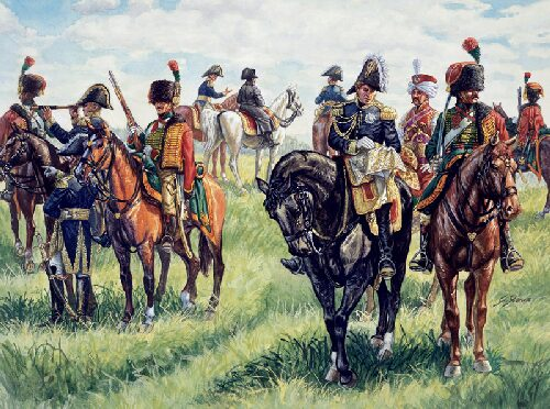 Italeri 6016 WATERLOO (200years) Napoleon's General Staff