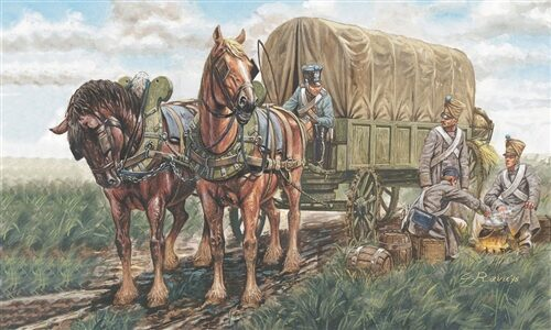 Italeri 6017 French Supply Chariots