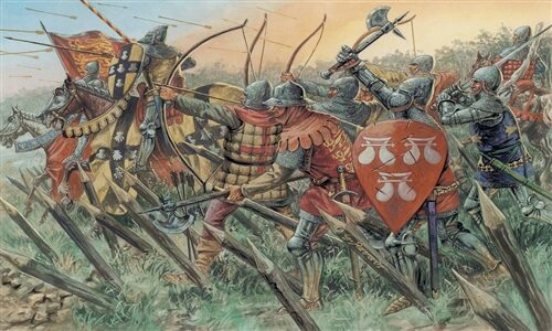 Italeri 6027 English Knights and Archers