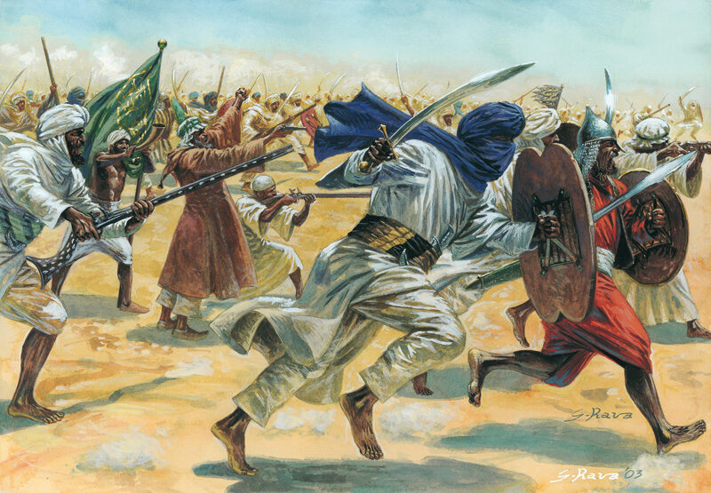 Italeri 6055 Arab/Muslim Warriors