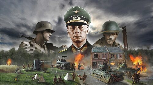 Italeri 6118 WWII : 1940 BATTLE OF ARRAS - ROMMEL'S OFFENSIVE