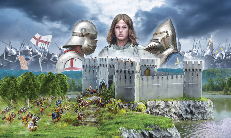 Italeri 6185 100 Years War- Castle under Siege