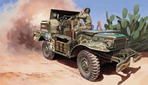 Italeri 6555 37 mm Gun Motor Carriage M6