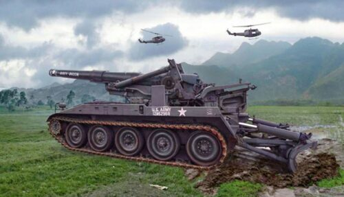 Italeri 6574 M110 Self propelled Howitzer