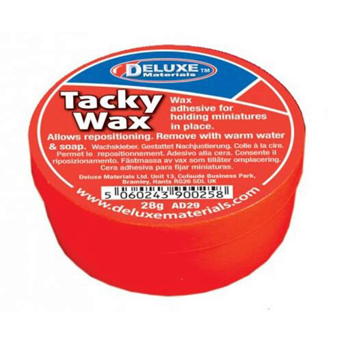 Deluxe materials 44086 Tacky Wachs - Fixierwachs 28g