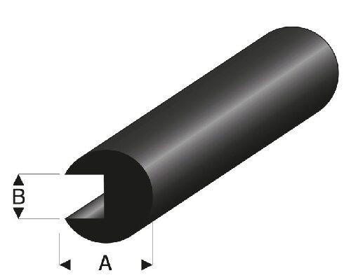 rb107-39 Krick RABOESCH Ruderhebel T-Form Nylon I-Ø 3 mm