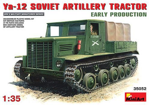 MiniArt 35052 Sowj. Artillerie Zugmaschine Ya-12.Early